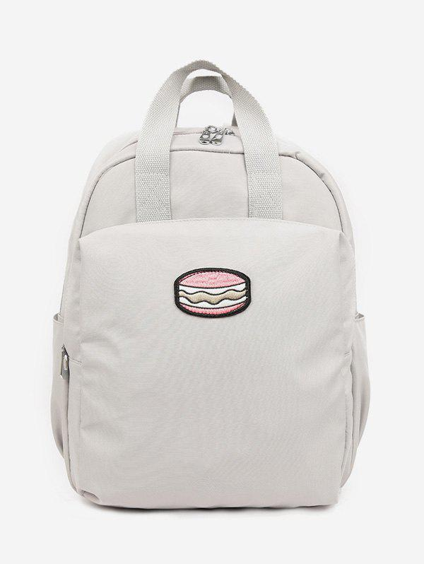 Cheap Cake Pattern School Backpack