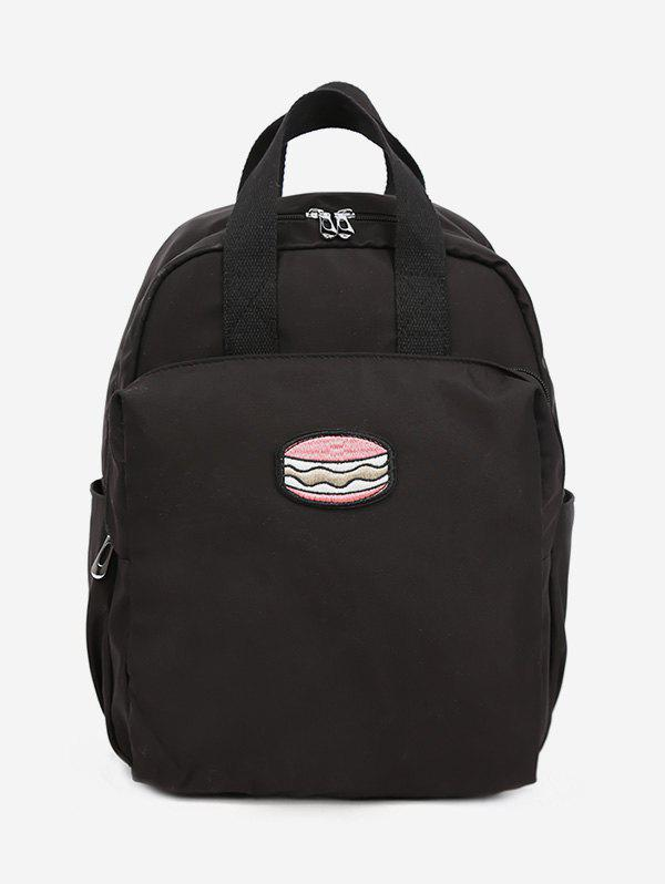 Chic Cake Pattern School Backpack