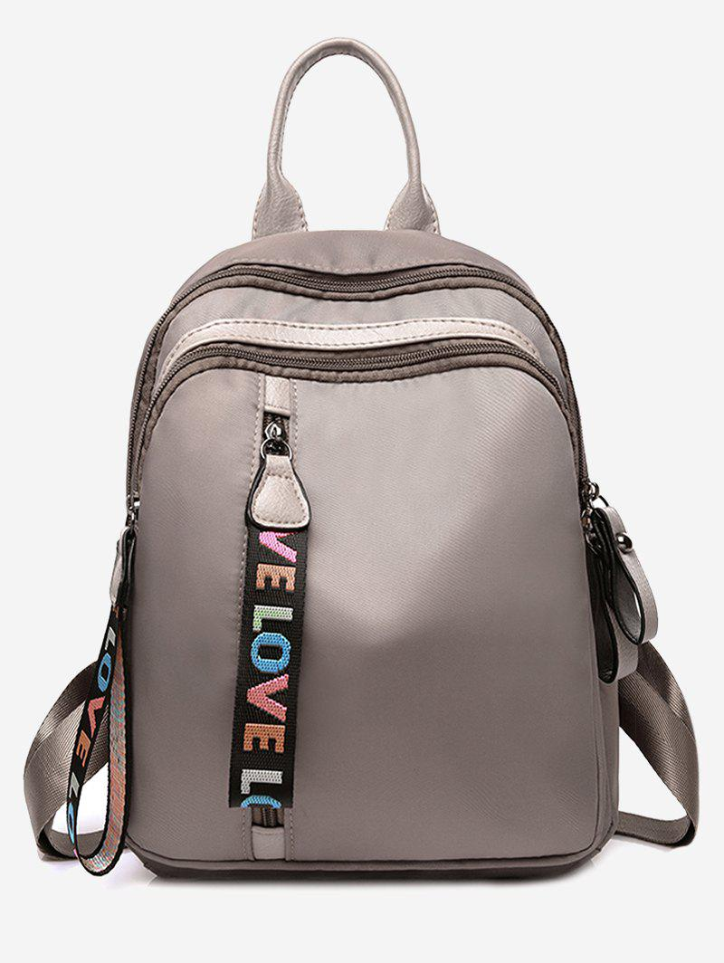 Best Statement Love Letter Pattern Backpack