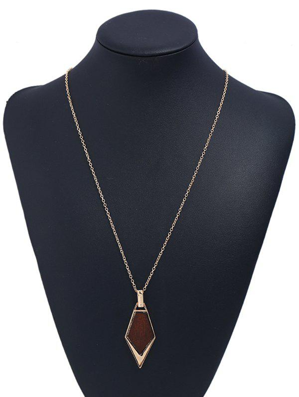 Best Novelty Geometric Shape Wooden Necklace