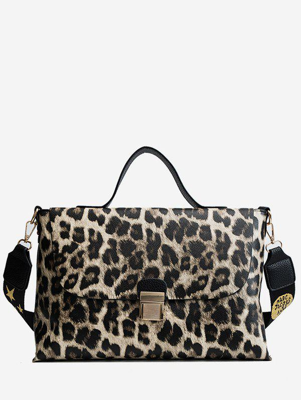 Outfits Leopard Star Pattern Cover Tote Bag