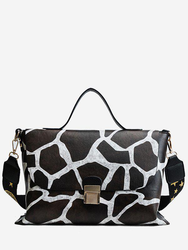 Online Leopard Star Pattern Cover Tote Bag