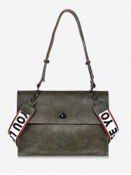 Large Capacity Letter Wideband Design Shoulder Bag -