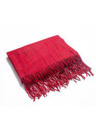Stylish Striped Fringed Long Scarf -