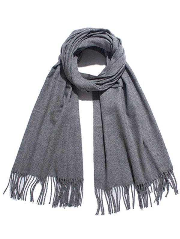 Outfits Stylish Solid Color Soft Long Scarf