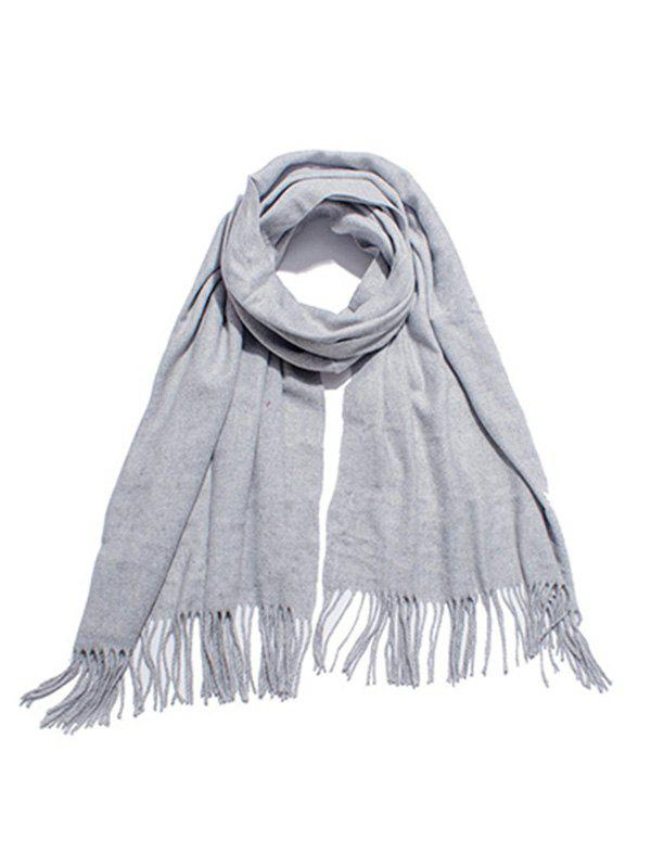 New Stylish Solid Color Soft Long Scarf