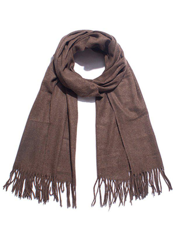 Store Stylish Solid Color Soft Long Scarf