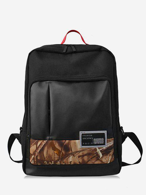 Cheap Leaves Shape and Letter School Backpack