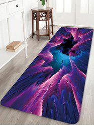 Abstract Pattern Water Absorption Area Rug -