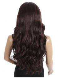 Synthetic Side Parting Long Loose Wave Lace Front Wig -