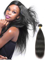 Real Human Hair Straight Indian Remy Hair Weave -