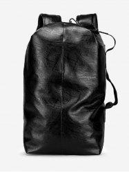 Solid Color Thread Design Backpack -