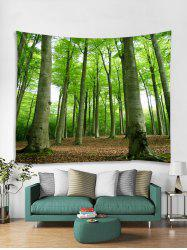 Forest Trees Print Tapestry Wall Hanging Decoration -