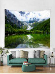 Mountain Lakes Tapestry Art Decoration -