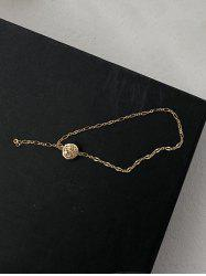 Minimalist Hollow Out Round Chain Bracelet -