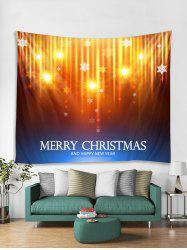 MERRY CHRISTMAS Print Tapestry Wall Hanging Decor -