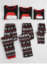 Christmas Hat Printed Family Pajamas Sets -