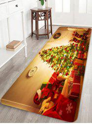 Christmas Tree Gift Printed Non-slip Area Rug -