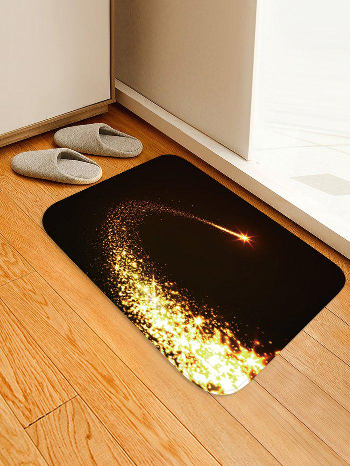 Fancy Christmas Starlight Pattern Water Absorption Area Rug
