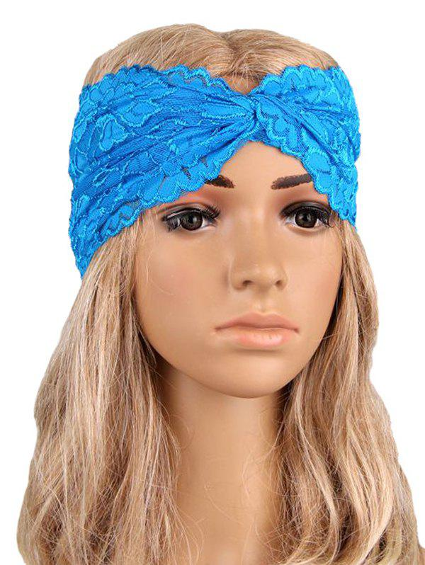 Outfits Overlap Hollow Out Lace Wide Headband