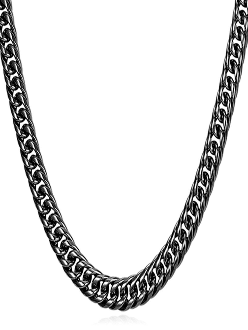 Store Stainless Steel Simple Design Chain Necklace