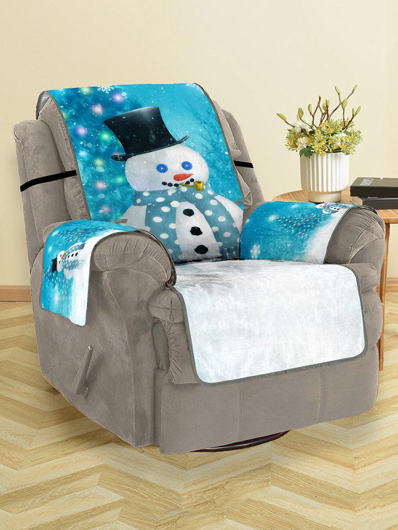 Sale Christmas Tree Snowman Pattern Couch Cover