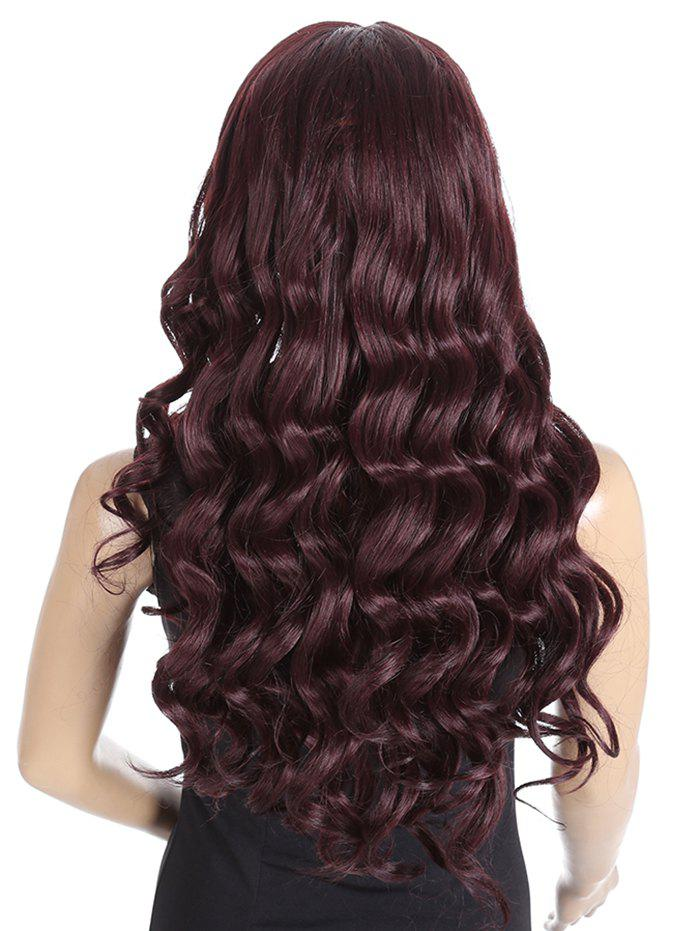 Buy Synthetic Side Parting Long Loose Wave Lace Front Wig