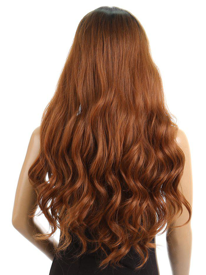 Fancy Synthetic Side Parting Long Loose Wave Lace Front Wig