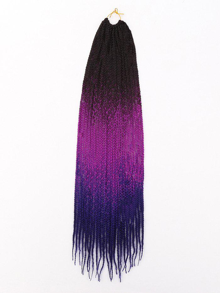 Sale Long Ombre Braids Synthetic Hair Extensions