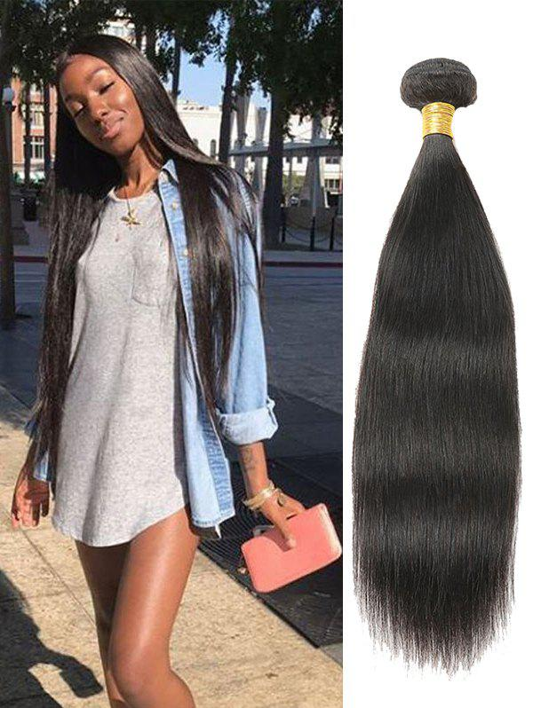 Cheap 1Pc Human Hair Straight Malaysian Remy Hair Weave