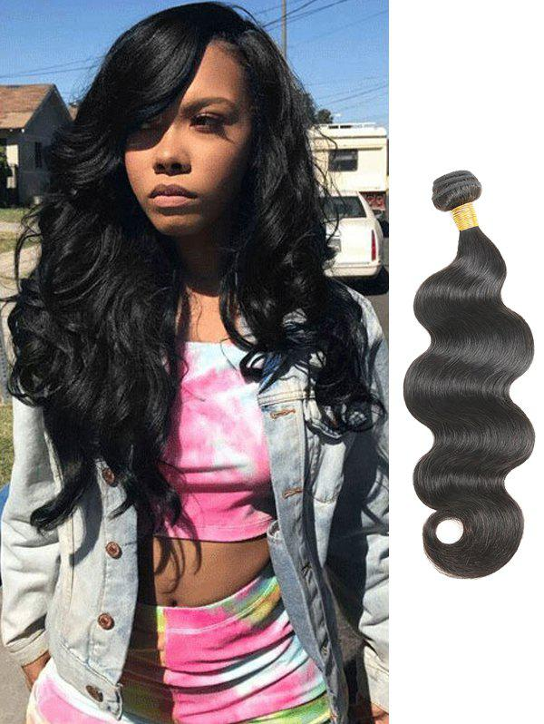 Online Real Human Hair Body Wave Peruvian Hair Weave