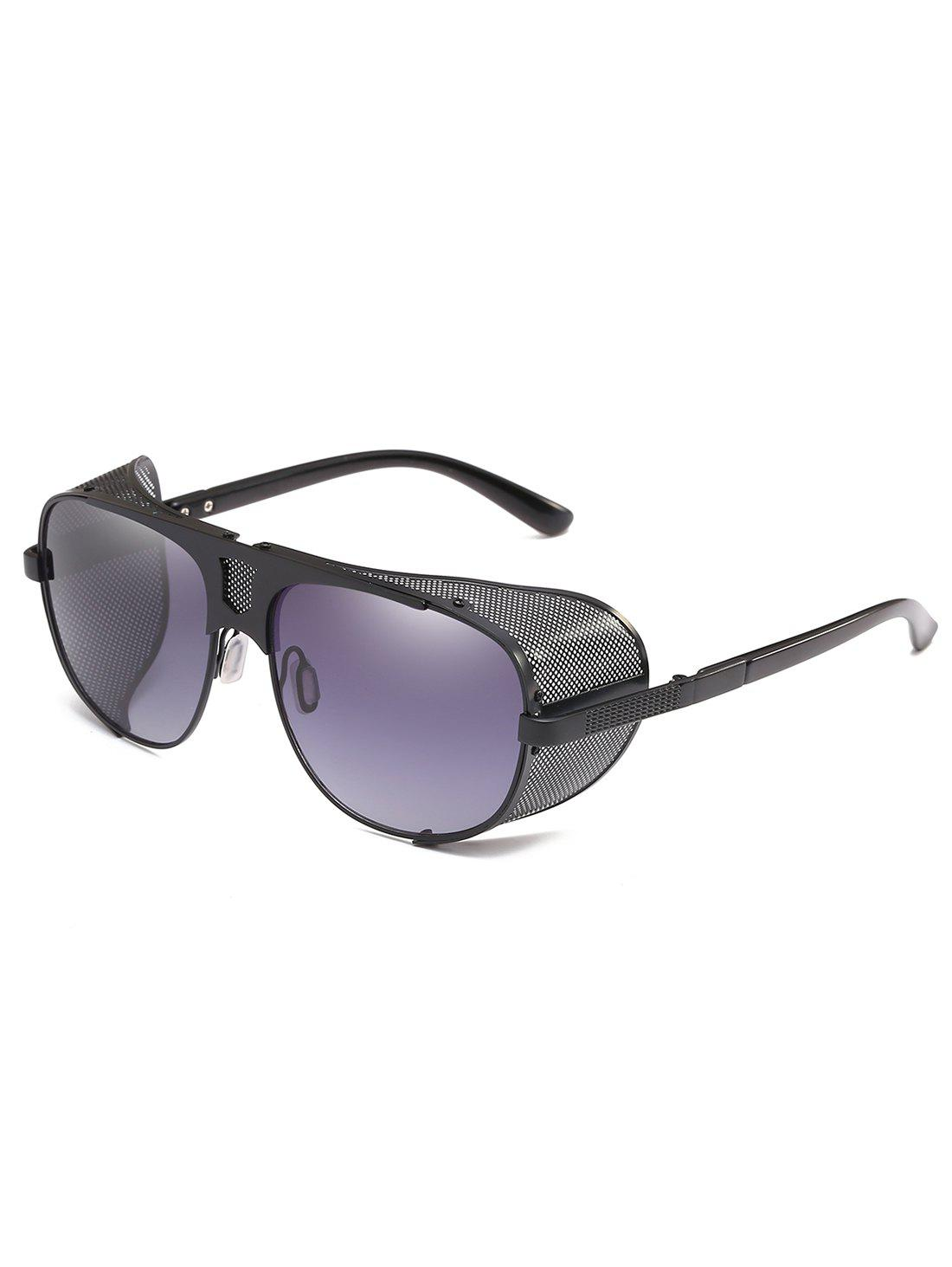 Trendy Punk Thick Frame Driving Sunglasses
