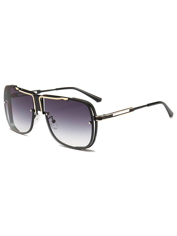 Best Hollow Out Frame Oversized Sunglasses