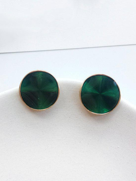 Online Minimalist Round Shape Stud Earrings