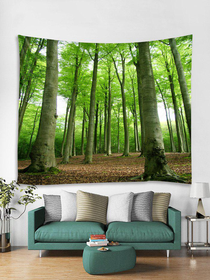 New Forest Trees Print Tapestry Wall Hanging Decoration