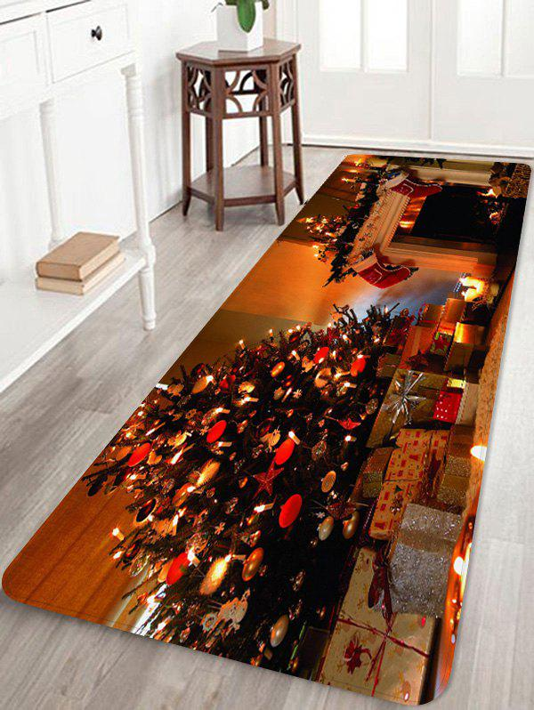 Sale Christmas Tree Star Gift Printed Non-slip Area Rug