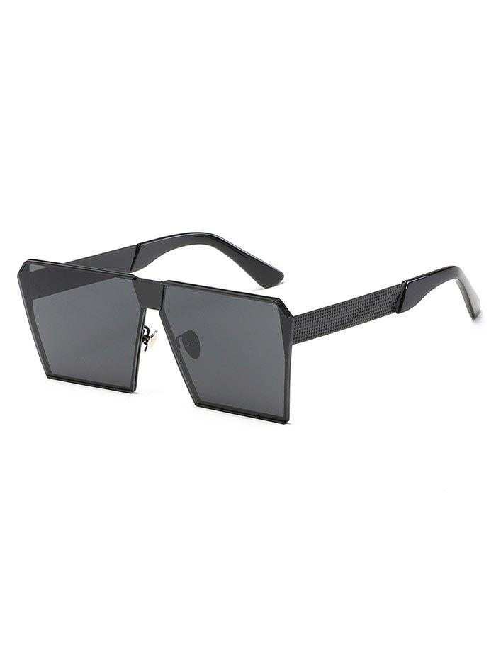Fancy Stylish Metal Frame Square Sunglasses