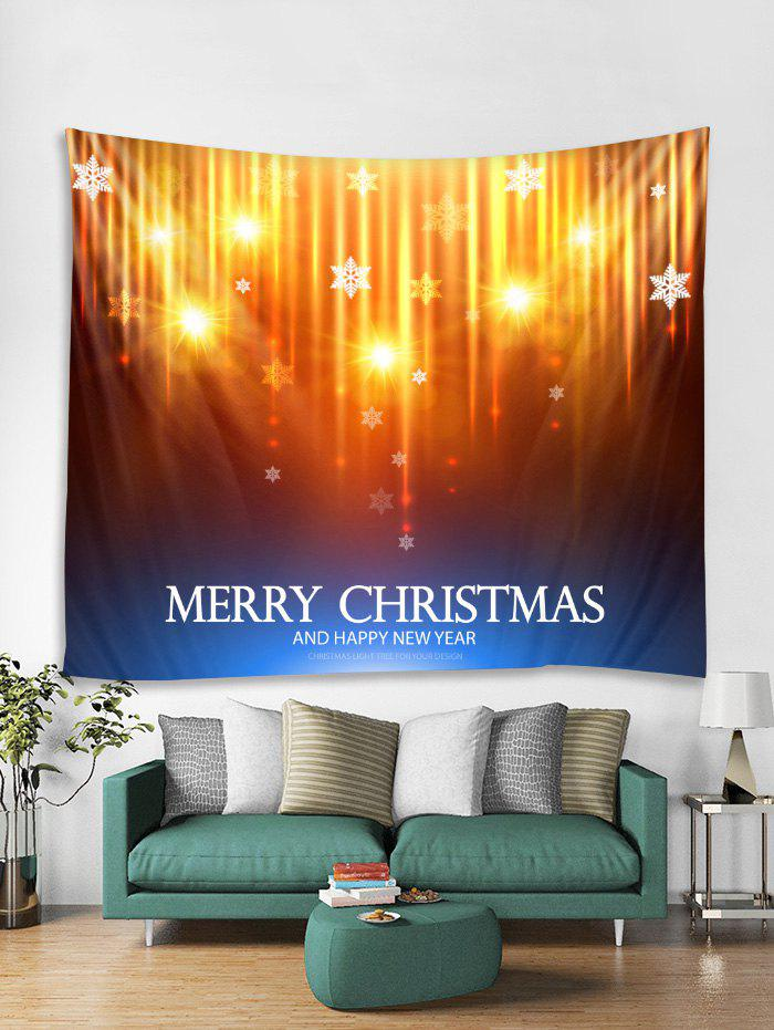 Hot MERRY CHRISTMAS Print Tapestry Wall Hanging Decor
