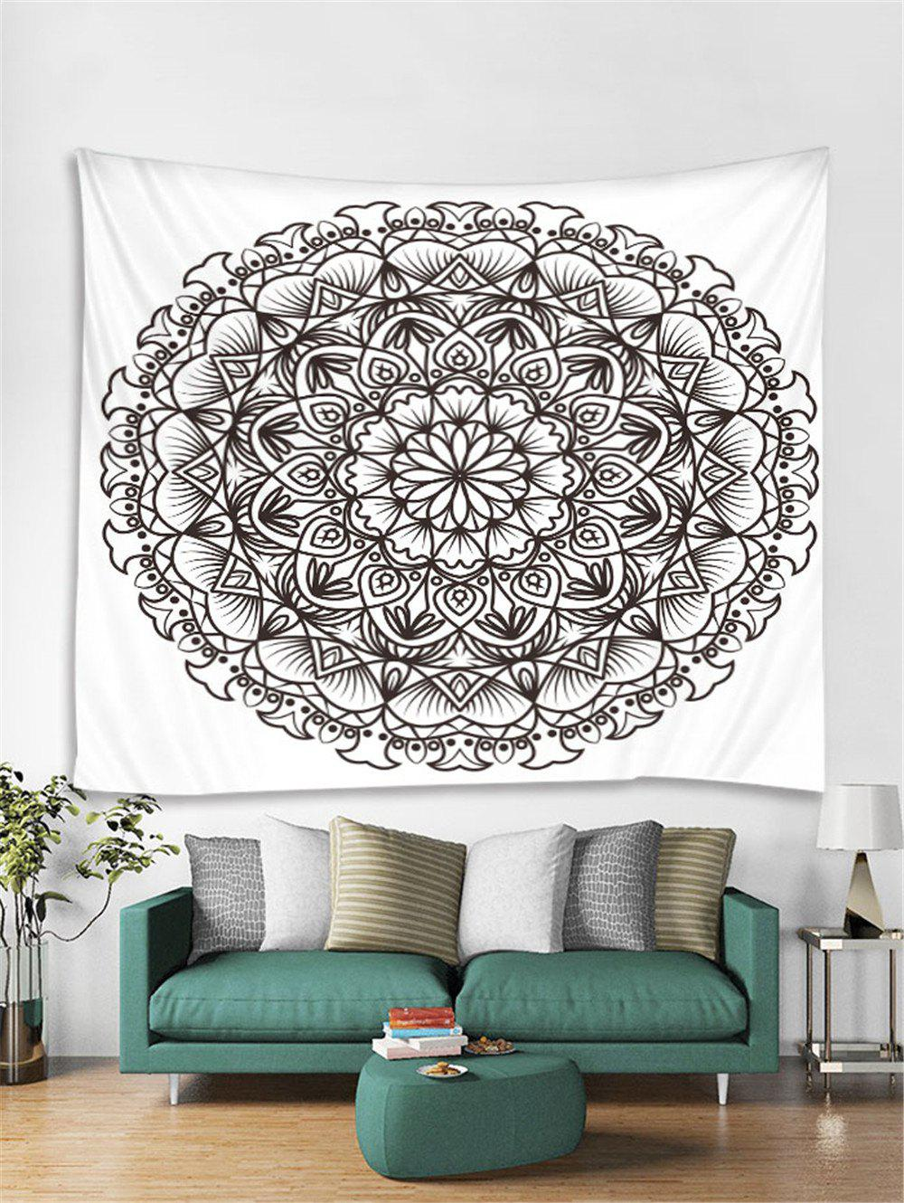 Cheap Mandala Floral Pattern Tapestry Art Decoration