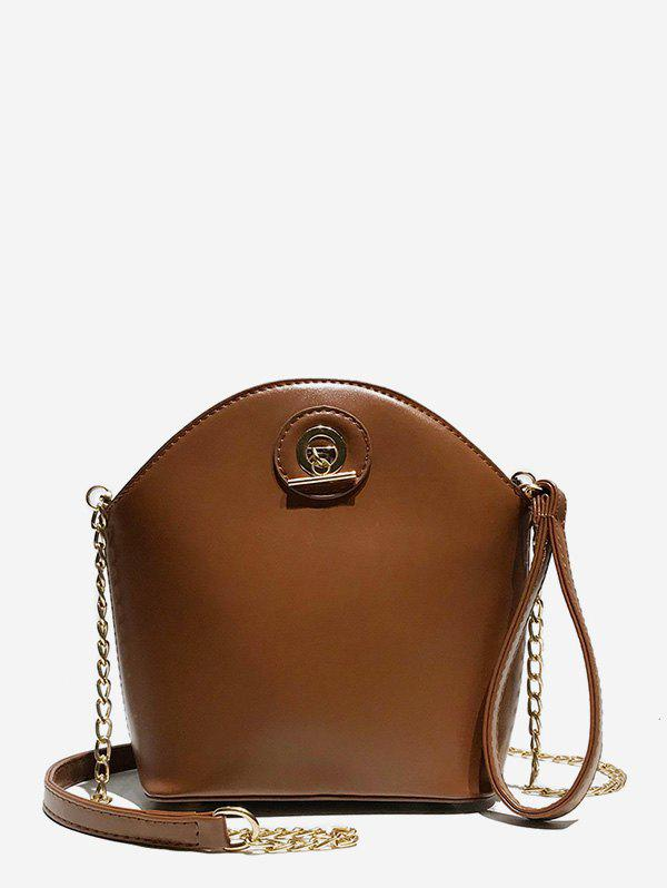 Outfits Shell Shape Zipper Design Crossbody Bag