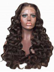 Center Parting Long Loose Wave Party Synthetic Lace Front Wig -