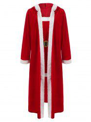Christmas Santa Claus Cosplay Costume Set -