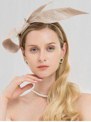 Stylish Solid Color Tea Party Hair Hoop -