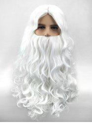 Synthetic Christmas Santa Claus Cosplay Wig -