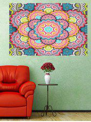Mandala Flower Print Wall Art Sticker -