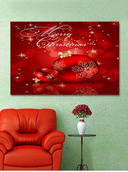 Christmas Balls Print Wall Art Sticker -