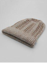 Vintage Flanging Knitted Warm Beanie -