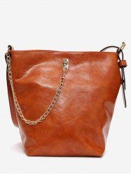 Vintage Large Capacity Design Crossbody Bag -