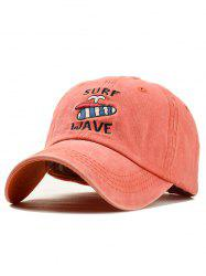 Fun Pattern Embroidery Baseball Cap -