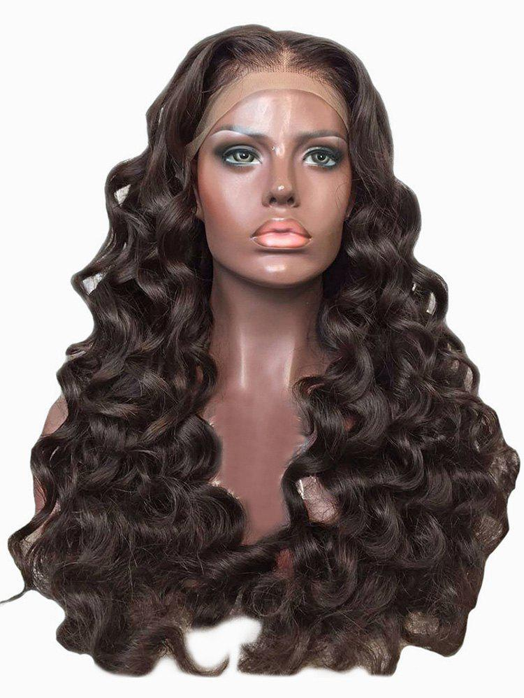 Discount Center Parting Long Loose Wave Party Synthetic Lace Front Wig